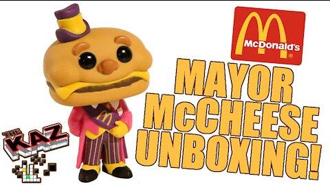 McDonald's Mayor McCheese Funko Pop Unboxing
