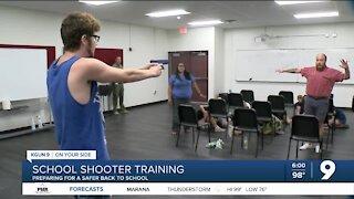 Deputies prepare schools for school shooters