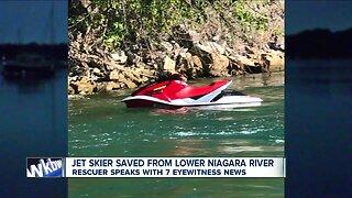 Man rescued on Niagara River by Niagara Jet Adventures tour crew
