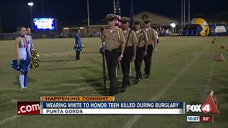 Charlotte County students honored teen killed during burglary
