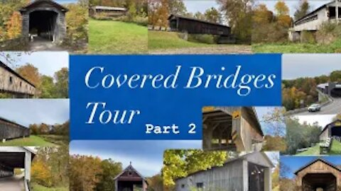 Covered bridges of Ashtabula County. Pt 1