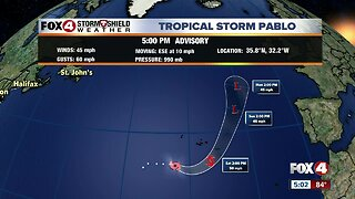 Tropical Storm Olga forms in the Gulf