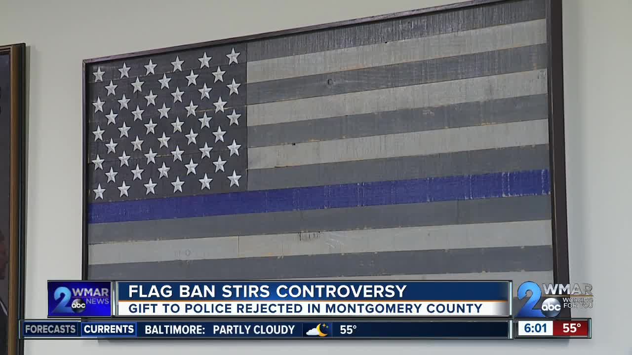 Flag ban stirs controversy