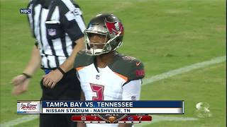 Jameis Winston throws 2 touchdowns as Tampa Bay Buccaneers beats Tennessee Titans 30-14