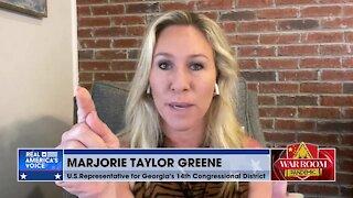 Rep. Greene Explains Open Borders, Inc.