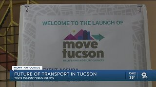 Master plan launched for future transportation in Tucson