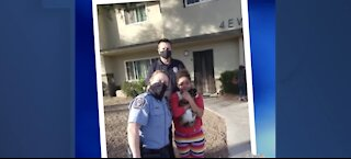 North Las Vegas police unite 11 year-old-girl with cat