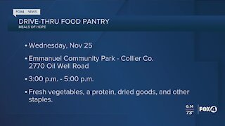 Community food distributions