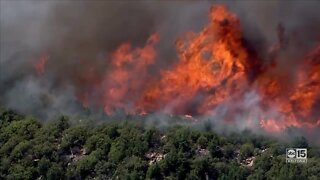 Bush Fire forcing more evacuations