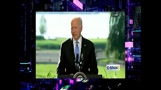 Biden Again Says He Has To Follow List, Forgets Declaration of Independence At Post-Putin Presser