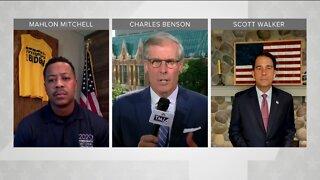 Political Panel: Scott Walker, Mahlon Mitchell address Biden's speech ahead of DNC night four