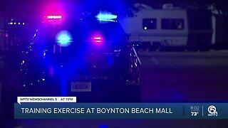 Boynton Beach police hold training exercise at Boynton Beach Mall