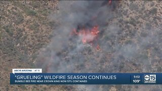'Grueling' wildfire season continues across Arizona