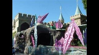 Alice in Wonderland Attraction at Disneyland resort
