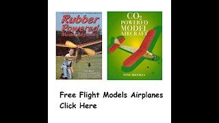Free Flight Model Airplane