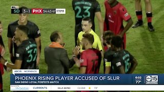 Phoenix Rising player accused of using homophobic slur during game