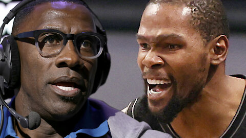 """Kevin Durant Calls Out """"Drunk"""" Shannon Sharpe For Blatantly LYING About Something He NEVER Said"""