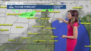 Summer weather moves into Thursday