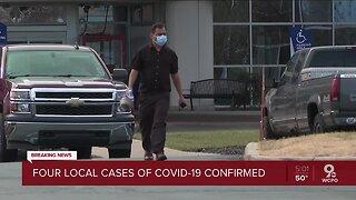 Four confirmed COVID-19 cases in Greater Cincinnati