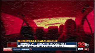 Ridgecrest car wash creates Tunnel of Terror