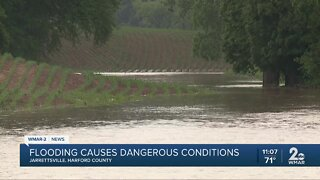 Flooding causes dangerous conditions in Harford County