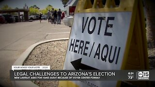 Legal challenges to Arizona's election