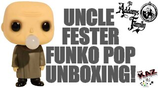 Uncle Fester with Light Bulb Addams Family Funko Pop Unboxing