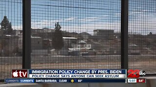 Immigration policy change by President Biden, says anyone can seek asylum