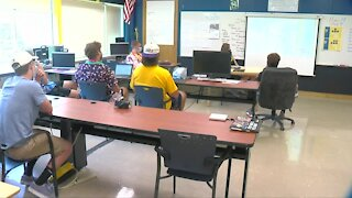 Alden middle & high school students return to all in-school learning