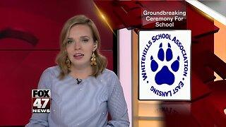 Groundbreaking ceremony for East Lansing school