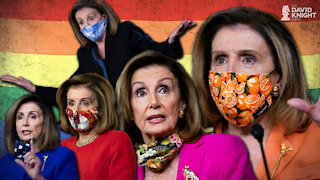Pelosi's Mask Mandate for Congress: Power Trip Pedal-to-the-Metal