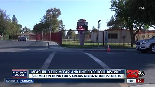 Measure B for McFarland Unified School District