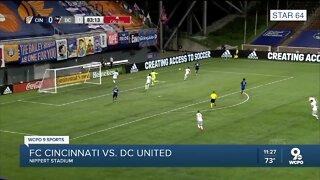 FC Cincinnati match against DC United a 0-0 draw