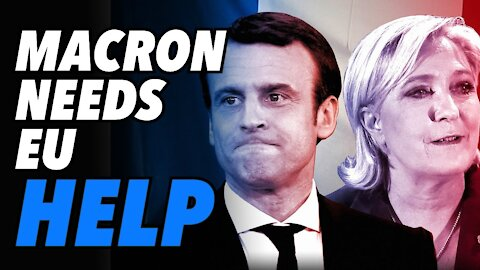 New Poll, Le Pen continues to surge. Macron needs EU intervention to avoid loss