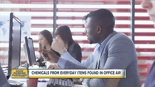 Everyday items pollute office air