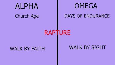 ALPHA AND OMEGA RAPTURE
