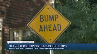 Detroiters hoping for speed bumps in their neighborhoods