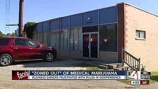 """Zoned out"" of medical marijuana"
