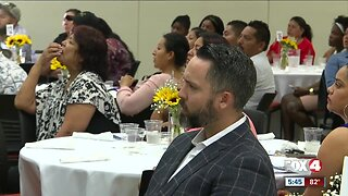 25 students participate in a Immokalee version Shark Tank