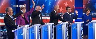 Democratic presidential candidates trade jabs during fiery 2-hour Las Vegas debate