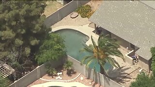 Three-month-old hospitalized after falling into Glendale pool