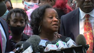 Jacob Blake's family speaks out during emotional news conference