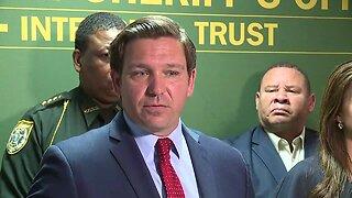 Gov. DeSantis says Florida's risk level for coronavirus still low
