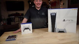 PS5 Unboxing and first impressions