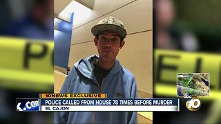 Police called from house 78 times before murder