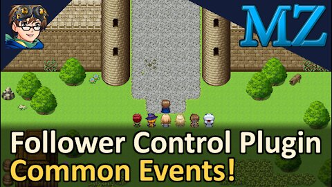 Follower Control Plugin with Common Events! RPG Maker MZ