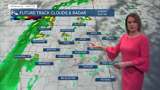 2 News Meteorologist with Sunday afternoon forecast