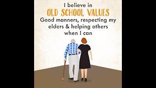 I believe in old school values [GMG Originals]