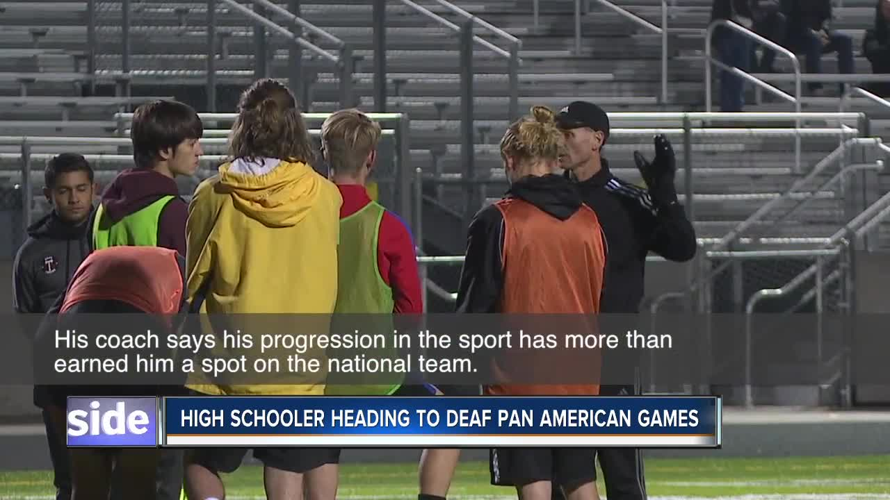 17-year-old soccer player heads to 2019 Deaf Pan American Games