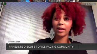 Part 3: Panelists discuss topics facing community